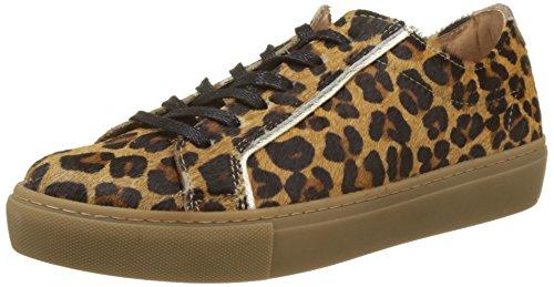 Bensimon Damen Tennis Chic Sneakers, Mehrfarbig (Leopard), 39 EU (Chic Leopard)