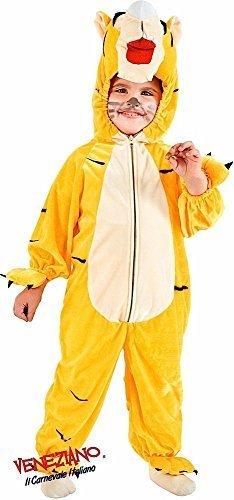 lung Kleinkinder Jungen Mädchen Tiger Safari Zoo Tier Halloween Karneval Kostüm Kleid Outfit 12-26 Monate - 3 years (Safari-outfit Für Kleinkinder)