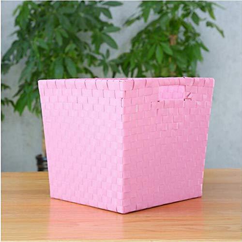 Plastikkleidung, Müllkorb, Garderobenschrank, weiß, pink, blau, dunkelblau SYFO (Farbe : Rosa)