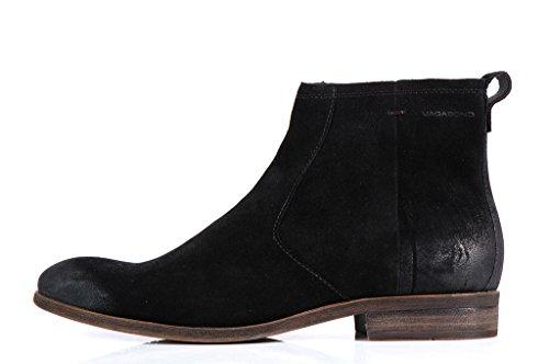 Vagabond Shoes Hustle Men's - Stivaletti Neri Scamosciati