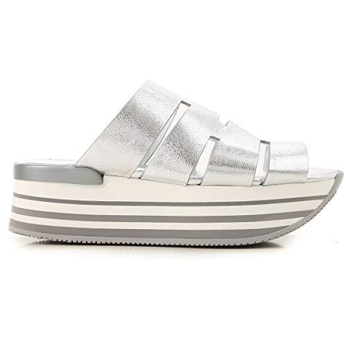Hogan Sneakers Donna MOD. HXW2940BP00MEC Argento 39
