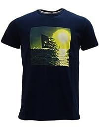 Weekend Offender Navy Sunset T-Shirt - Baelearic