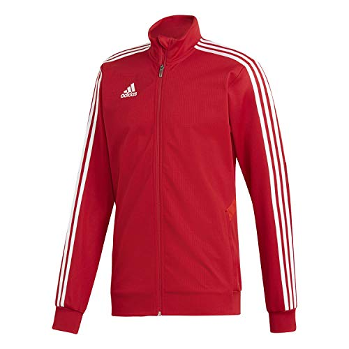adidas Herren TIRO19 TR Jacket, Power Red/White, M