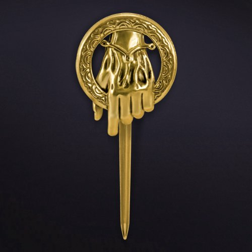 W Kostüme Gläser (Kauf 2 und bekomme 1 gratis! 7cm Gold hand to the king pin.Hochwertig Game of Thrones Brosche, Hand To The King Tywin Lannister, verschiedene Designs, Modeschmuck,)