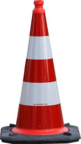 Preisvergleich Produktbild TL-Leitkegel 750 mm BAST rot/weiß
