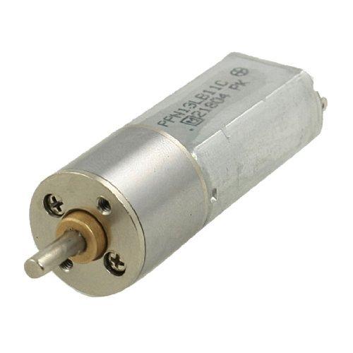 Preisvergleich Produktbild 200rpm 12V 0.5A High Torque Mini Electric DC-Getriebemotor 16mm