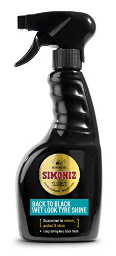 Simoniz ? sapp0073 a Back To Black Wet Look Shine de neumáticos, 500 ML
