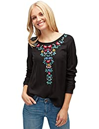 TOM TAILOR Damen Bluse Lovely Embroidery Blouse