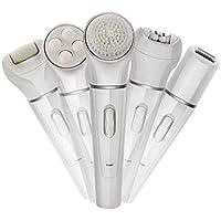 DUYX Harte Haut-Entferner, Elektrische Epilierer-Reinigungs-Instrument-Wäsche-Bürsten-Fuß-Massager-Multifunktionsschönheits-Satz preisvergleich bei billige-tabletten.eu