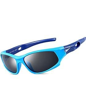 ATTCL Unisex-niños Deportes Gafas De Sol Polarizado Uv400 Protección Súper Ligero años 3-12