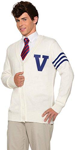 Forum Novelties, Inc Men's Varsity Sweater Fancy Dress Costume ()