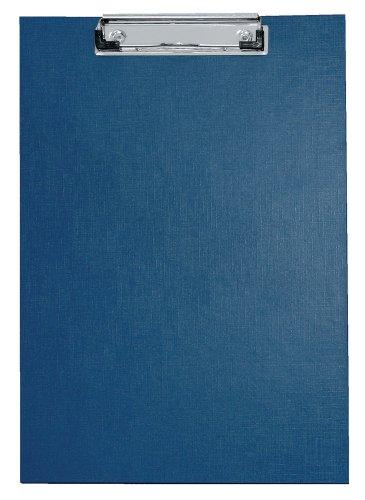 Preisvergleich Produktbild Veloflex 4814050 Schreibplatte A4, PVC-Folie, mit Spezialklammer, Hängeöse, Klarsichttasche, blau