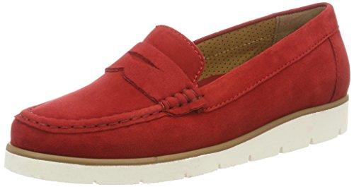 Gabor Shoes 64.22, Mocassini Donna Rosso (rosso 15)