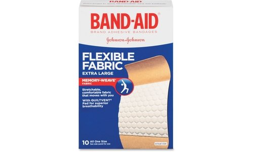 band-aid-flexible-fabric-bandages-extra-large-all-one-size-10-ct-by-band-aid