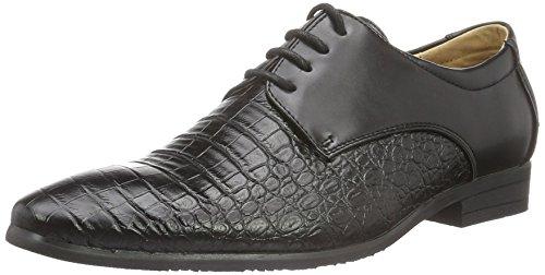 Goor , Chaussures de ville à lacets pour homme schwarz