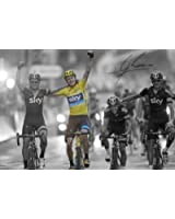 Chris Froome Signed A4 Autographed Poster Photo