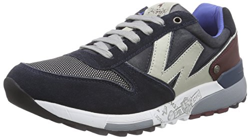 Wrangler Sunday, Low-Top Sneaker uomo, Blu (Blau (16 Navy)), 43