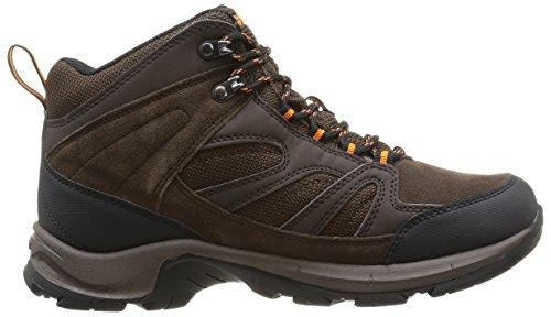 Hi-Tec - Scarpe da escursionismo, Uomo Marrone (Marron (Dark Chocolate/Tangelo))