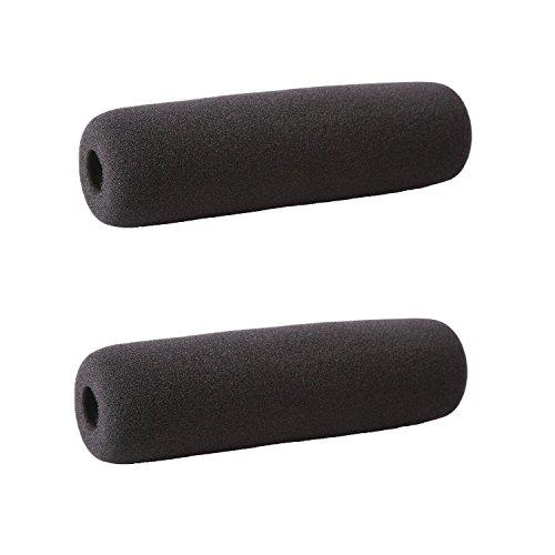 Pantalla Antiviento de Espuma Movo F16 para Micrófonos de Cañón de hasta 16 cm incluyendo el Audio-Technica AT 835ST, AT 897, Rode Videomic, NTG1, NTG2, Sennheiser MKH-60 SHORT (2 UNIDADES)