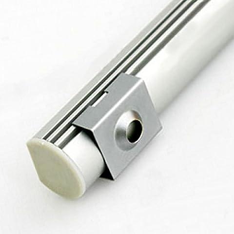 De aluminio Oval pinza de sujeción