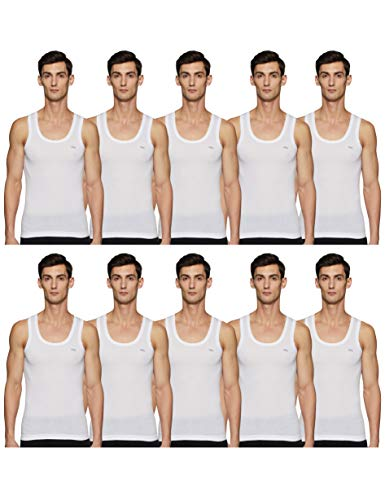 Lux Cozi Men's Scented Vest (Pack of 10) (COZI_Scented_White_RN_10PC 80)