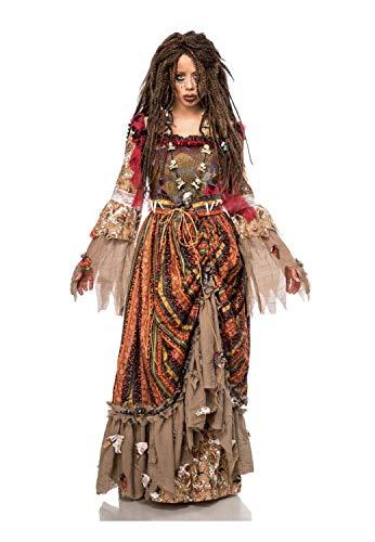 Mask ParadiseDamen Calypso Kostüm 3-teilig - Calypso Kostüm