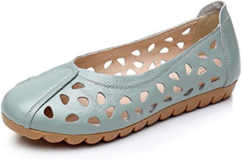 Chaussures s Femme Fond Mou D'Été Creux Antidérapage Chaussures  Pour FemmesB073S79YDJParent f3ad7b