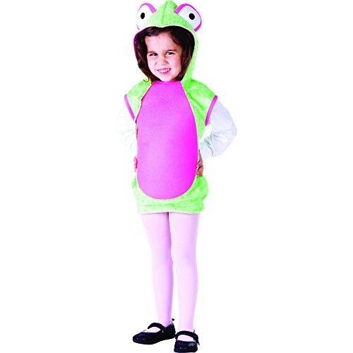 Dress Up America Deluxe Frau Frosch Kostüm (Kleinkind Kostüm Alte Frau)