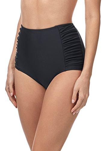 Merry Style Damen Bikinislip MS10-119 (Graphite2 (9200), 40)