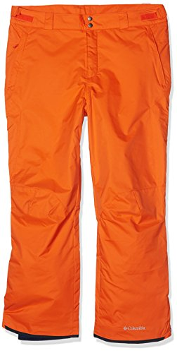 Columbia Herren Skihose Bugaboo II SO8360 Tangy Orange XL (Columbia Ski Omni-tech Hose)