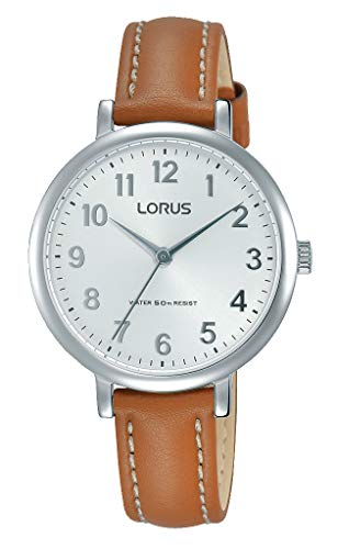 Lorus Womens Analogue Classic Quartz Watch with Stainless Steel Strap RG237MX7