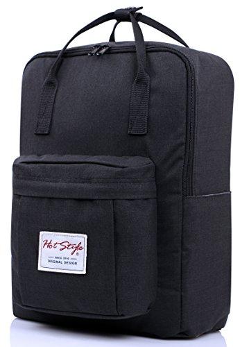 HotStyle Nett Rucksack Schulrucksack mit 14 zoll Laptopfach (37x27x14cm) Test