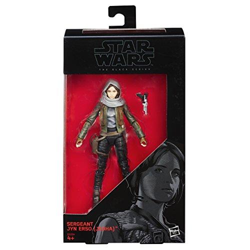 Star Wars - Figura Rogue One Sargento Jyn ERSO Jedha, 15 cm (Hasbro B9394ES0)