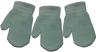 3 Pairs of Baby/Toddler Magic Mittens Various Colours One Size Unisex Acrylic : everything £5 (or less!)