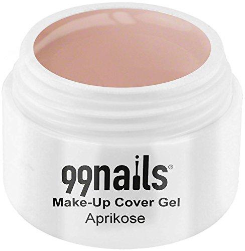 99nails Make-Up Cover Gel - Aprikose, 1er Pack (1 x 15 ml) -
