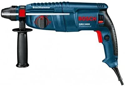 Bosch M289141 - Martillo perforador gbh 2400 con sds-plus con 3 brocas s4l y 1 cincel plano