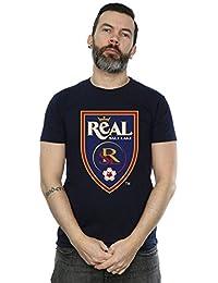 Majestic Homme MLS Real Salt Lake Logo T-Shirt Medium Marine