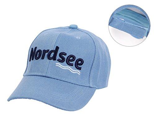 Nordsee Mütze Ostsee Baseball Cap Basecap Käppi Kappe Baseballkappe Unisex One Size...