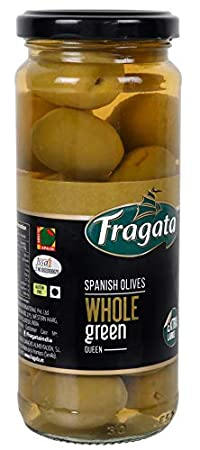 Fragata Spanish Plain Green QUEEN OLIVES 340g