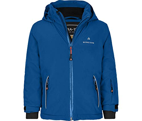 Bergson Kleinkinder Skijacke Frodo, Classic Blue [328], 86 – Kinder | 04057486138433