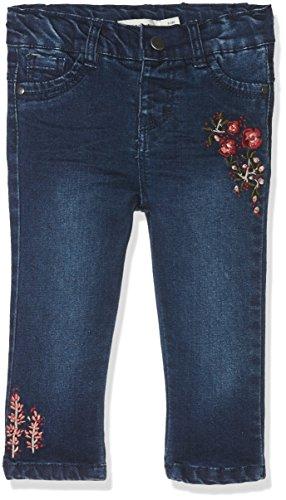 NAME IT Baby-Mädchen Jeans NITBATILDE Slim DNM Pant W Art F NB, Blau (Dark Blue Denim), 80