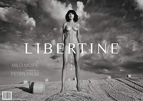 LIBERTINE: Kalender 2019 mit Milo Moiré fotografiert von Peter Palm - handsigniert & limitiert! - Kalender Film
