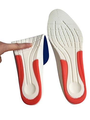 1/paia lavabili scarpe per uomini e donne /riflessologia piede terapia sollievo dal dolore Magnetico massaggio solette plantari/