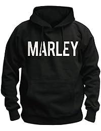 BOB MARLEY - MARLEY STANCE - OFFICIAL BLOUSE À CAPUCHE POUR HOMMES
