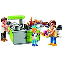 Playmobil 9543 City Life Collectable Family Kitchen Carry Case Juguete, Color