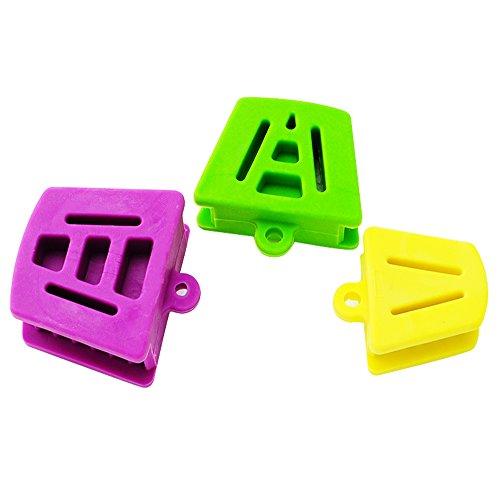 carejoy Silikon Mund Prop Mund Bites Block 3Stück (klein, mittel, groß) (Bite Block)