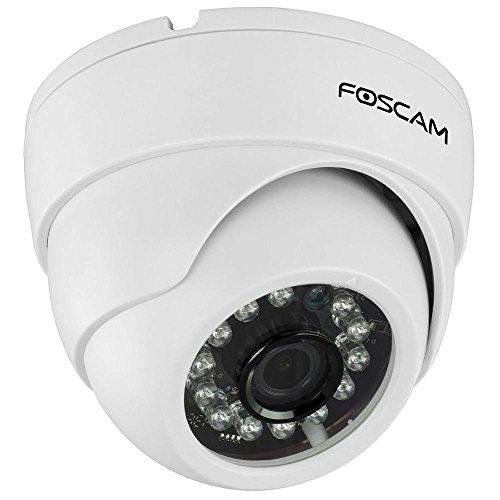 Foscam FI9851P 1MP HD WLAN IP-Kamera/Domekamera/Netzwerkkamera/Überwachungskamera mit P2P, IR Nachtsicht bis10m