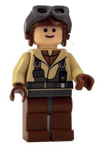 (LEGO Star Wars LOOSE Minifigur Naboo Pilot mit Blaster)