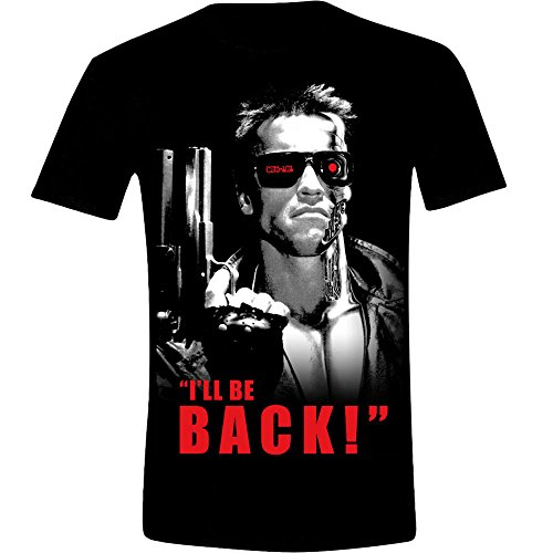 Men's Terminator I'll Be Back Quote T-Shirt