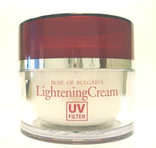 Lightening Creme Mit Rosenwasser